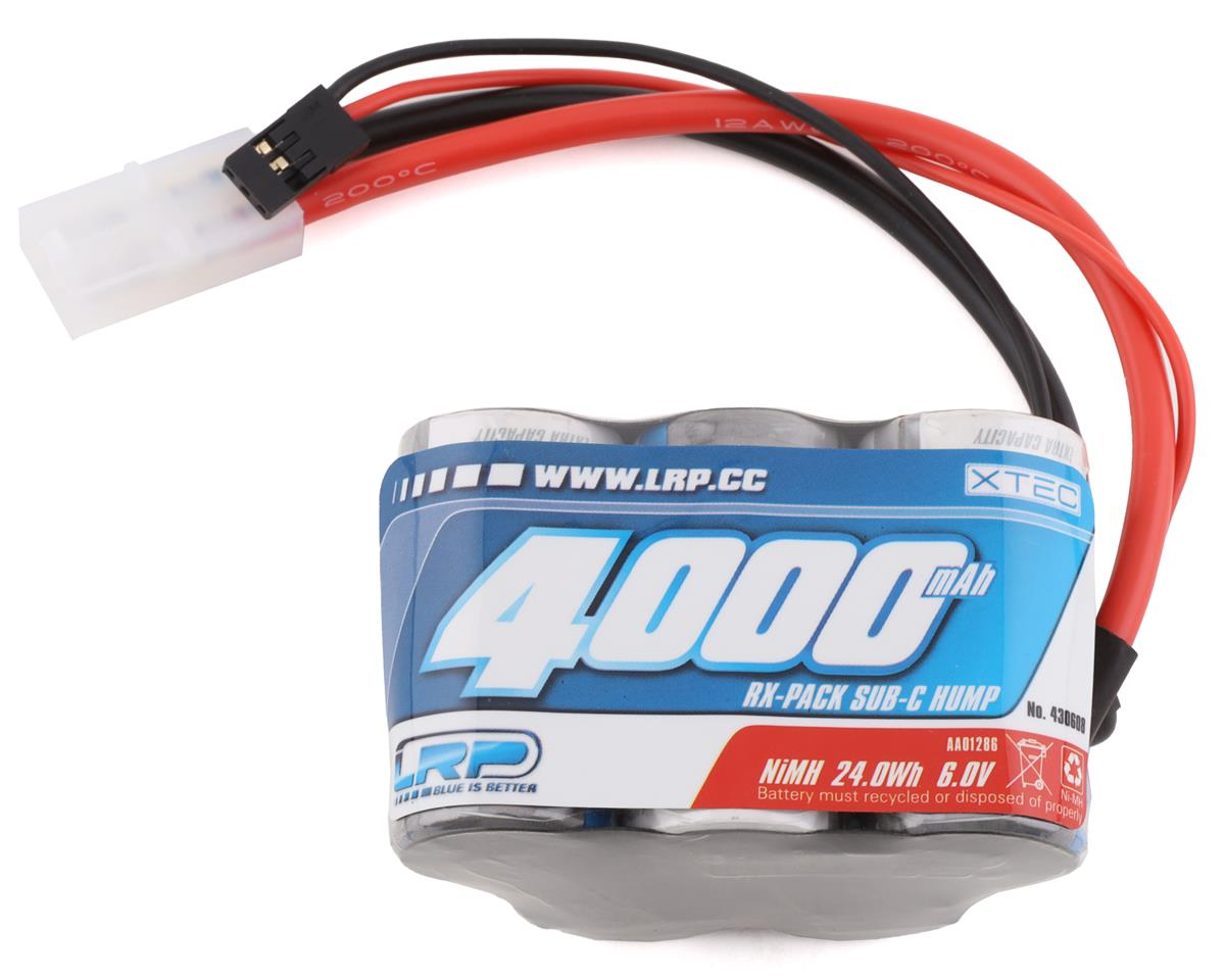 "LRP XTEC 5-Cell 6.0V ""Long Life"" 1/5 NiMH Hump Receiver Pack (4000mAh)"