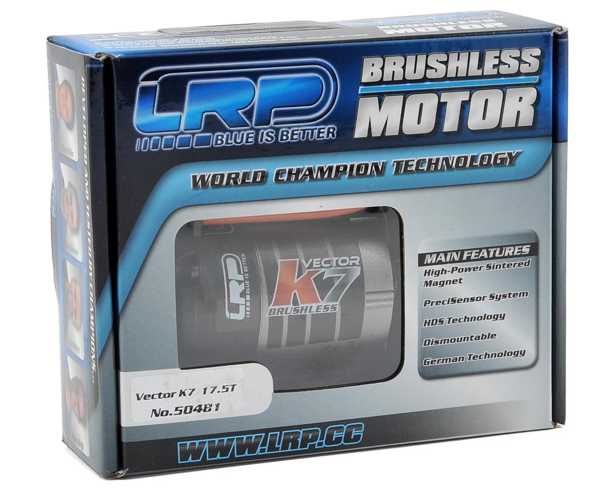 LRP Vector K7 Sensored Brushless Motor (17.5T)