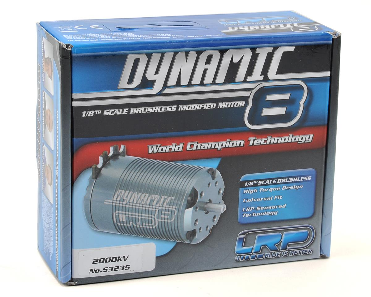 LRP Dynamic 8 Competition 1/8th Scale Brushless Motor (2000kV)