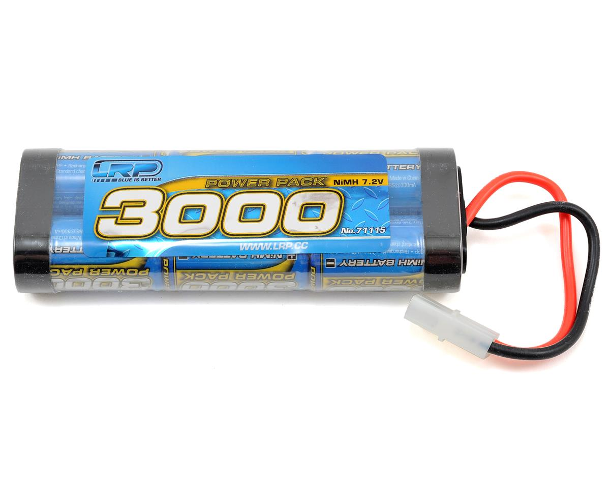 Power Pack 6-Cell NiMH Stick Pack Battery w/Tamiya Connector (7.2V/3000mAh) by LRP