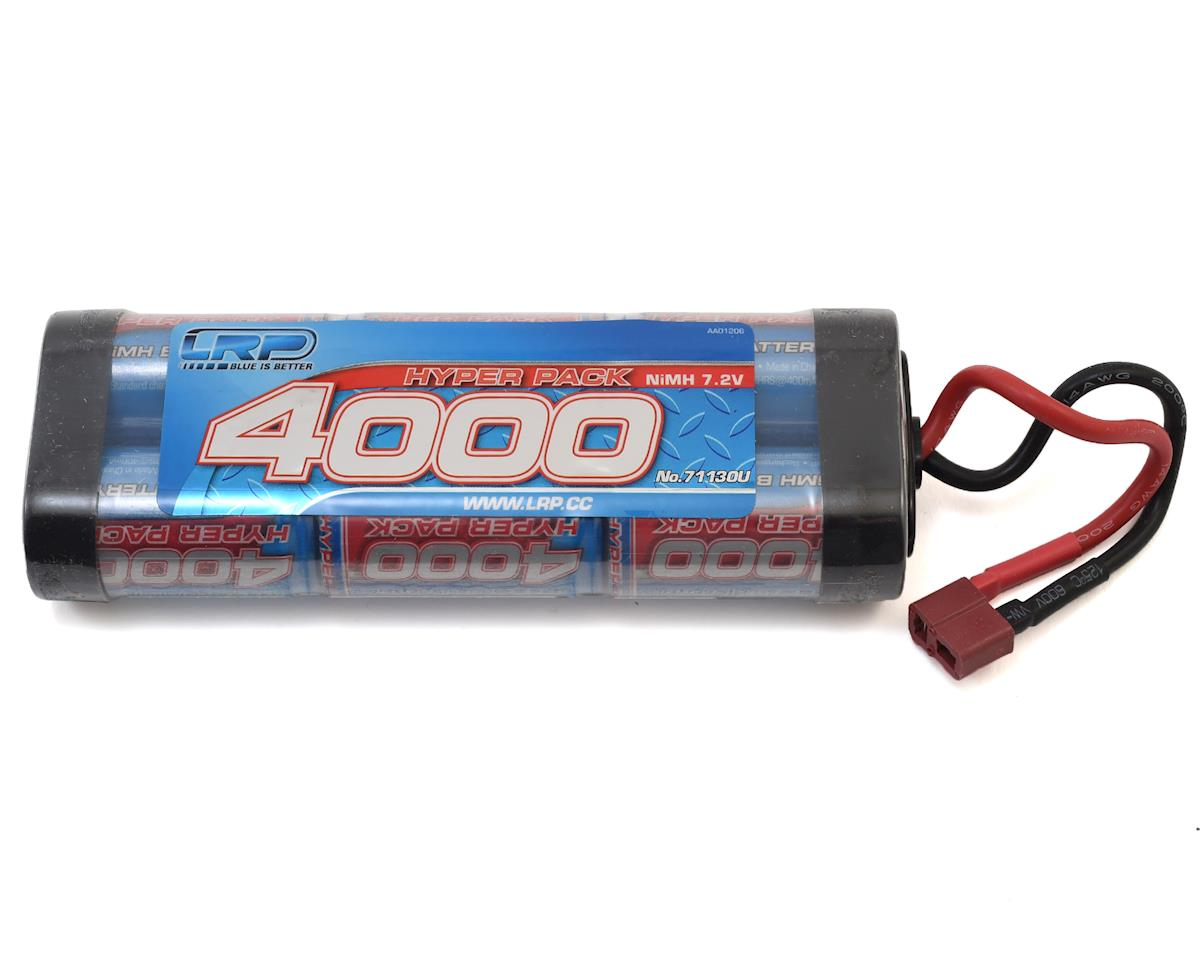 LRP 6-Cell Hyper Pack NiMH Stick Battery w/T-Style Connector (7.2V/4000mAh)