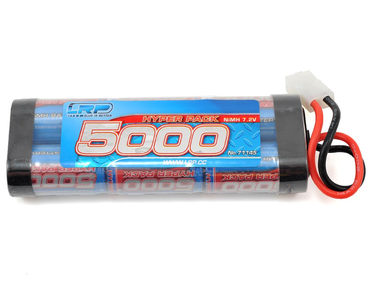 Hyper Pack 6-Cell NiMH Stick Pack Battery w/Tamiya Connector (7.2V/5000mAh) by LRP