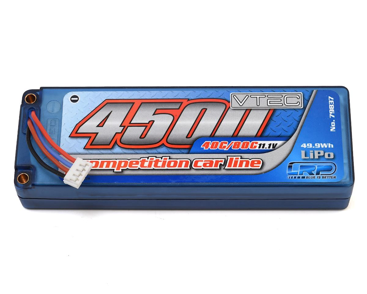 LRP Competition Car Line 3S 40C/80C Hardcase LiPo Battery (11.1V/4500mAh)