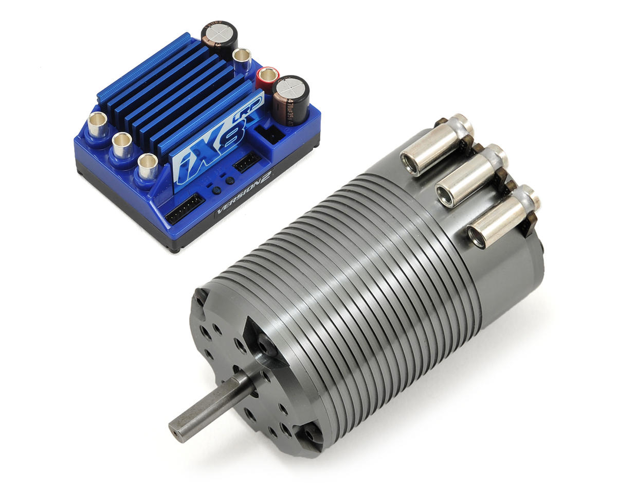 iX8 V2 ESC & Dynamic 8 Brushless Motor Combo (2200kV) by LRP