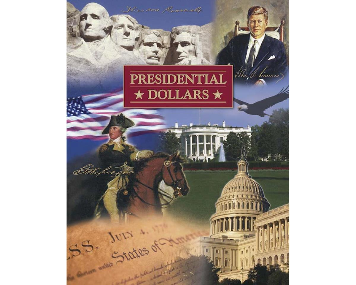 LCF36 Presidential Dollar Dlx P&D Color Foldr 2007-2016 by Littleton Coin Company