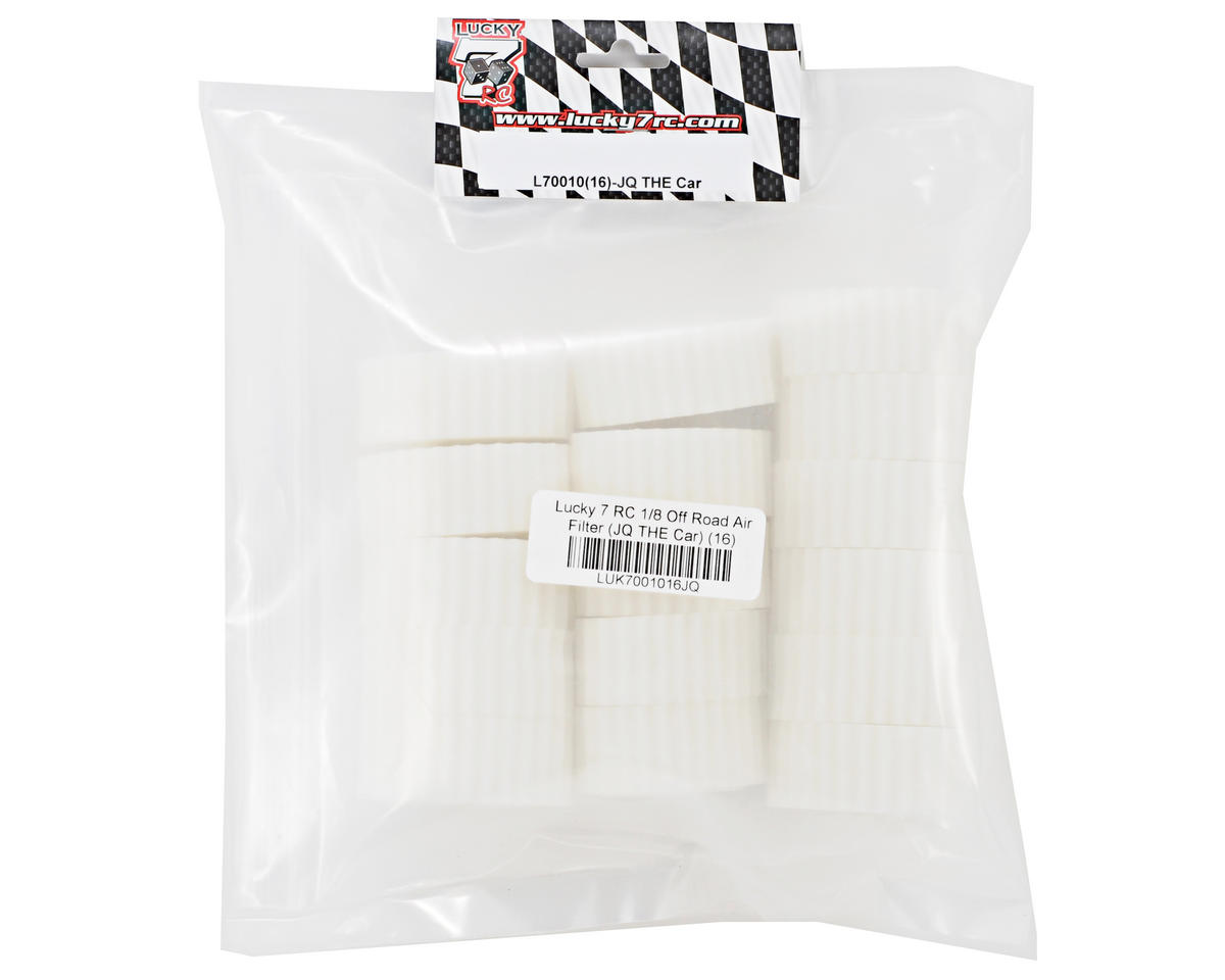 Lucky 7 RC 1/8 Off Road Air Filter (JQ THE Car) (16)