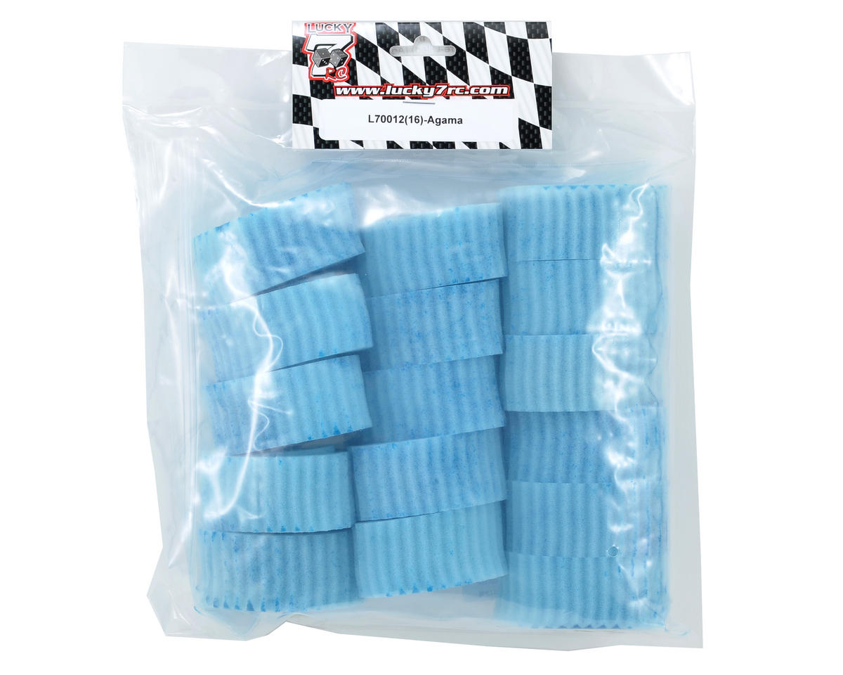 Lucky 7 RC 1/8 Off Road Air Filter (Pre-Oiled) (Agama) (16)
