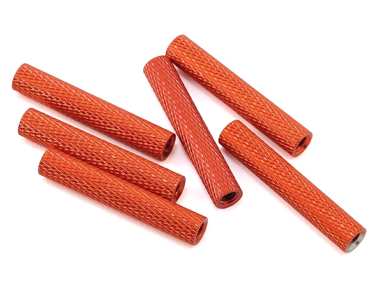 Lumenier 28mm Aluminum Textured Spacers (6) (Orange)