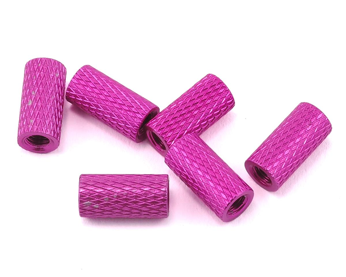 Lumenier 10mm Aluminum Textured Spacers (6) (Purple)
