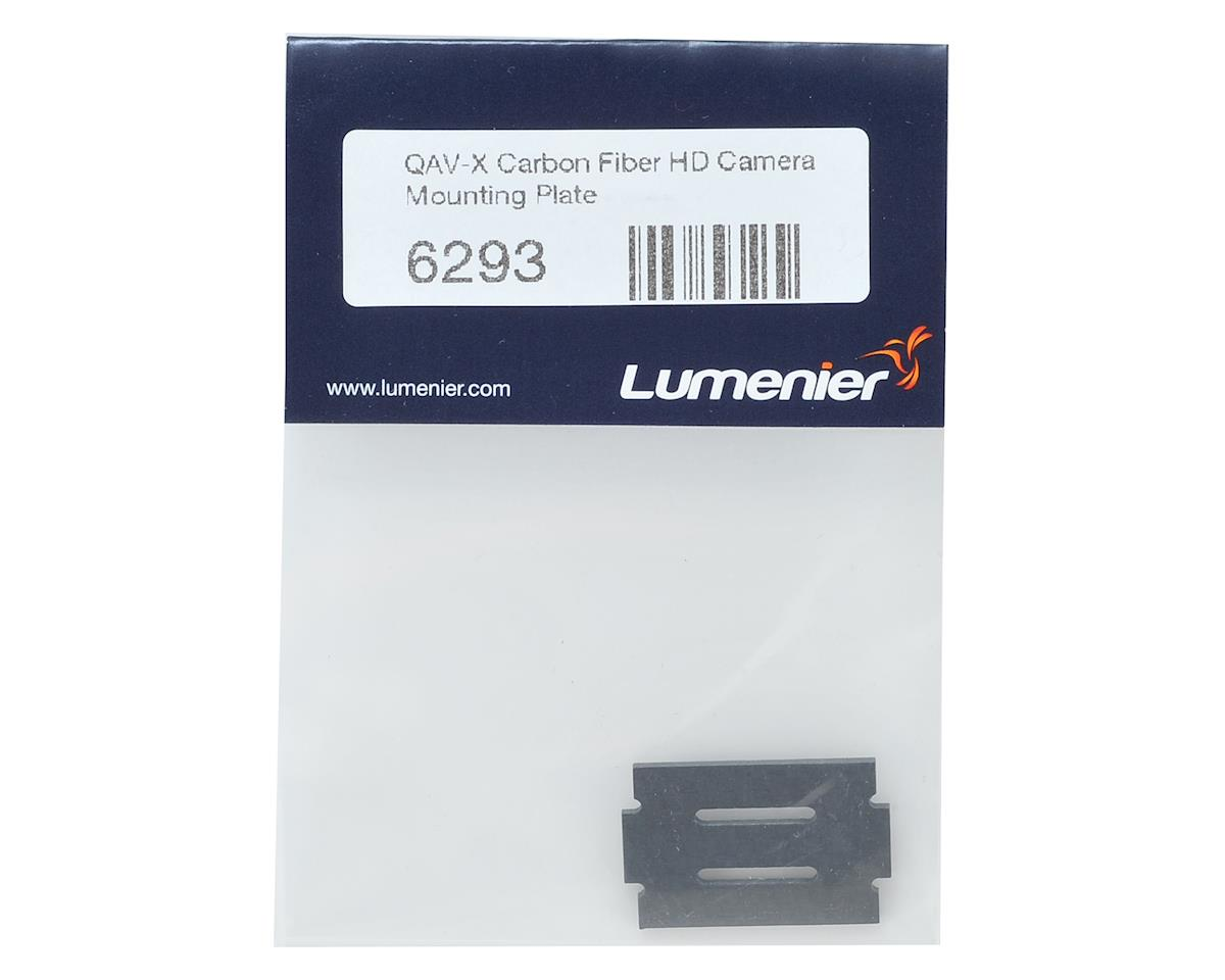 Lumenier QAV-X Carbon Fiber HD Camera Mounting Plate