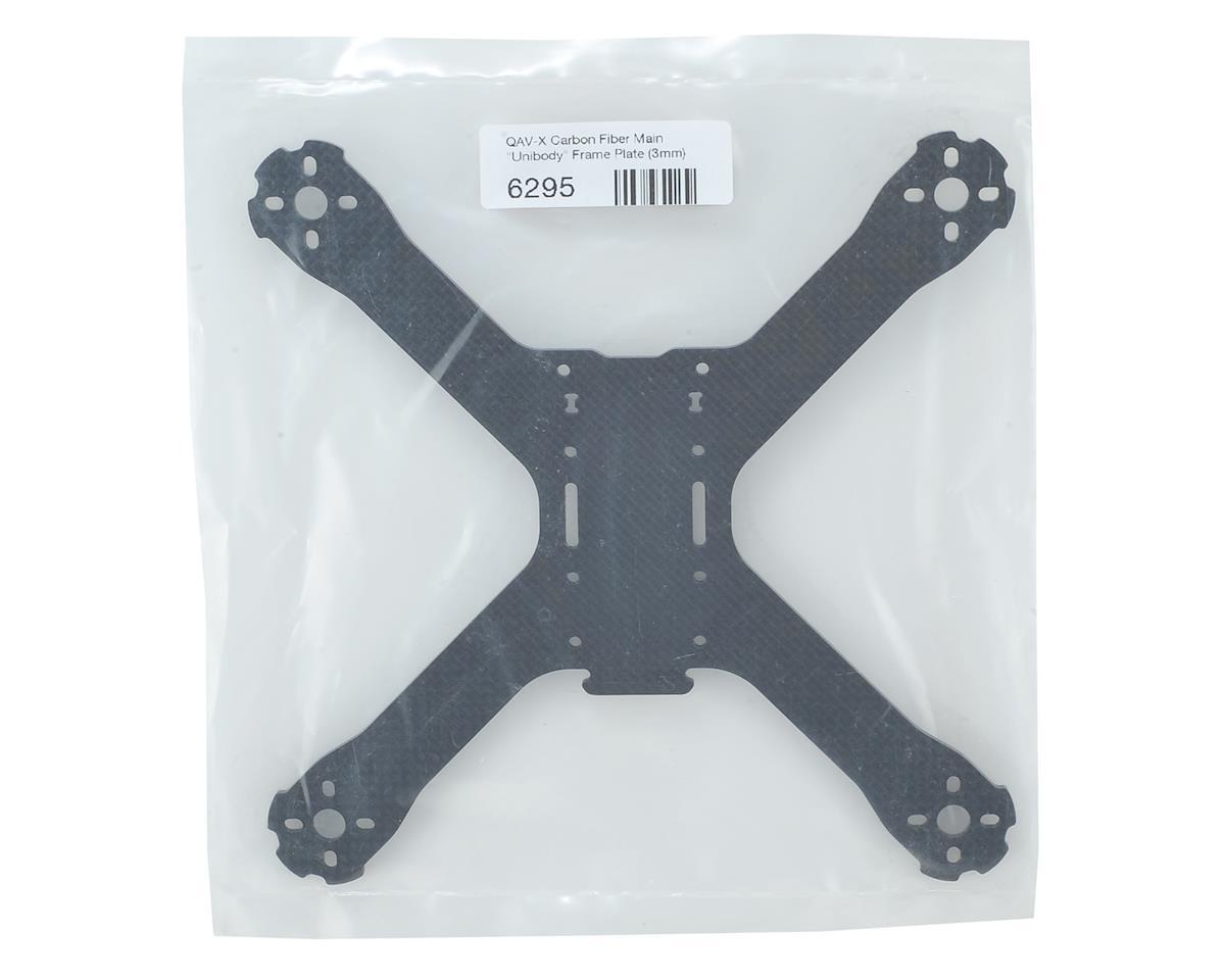 Lumenier QAV-X Carbon Fiber Main Unibody Frame Plate (3mm)