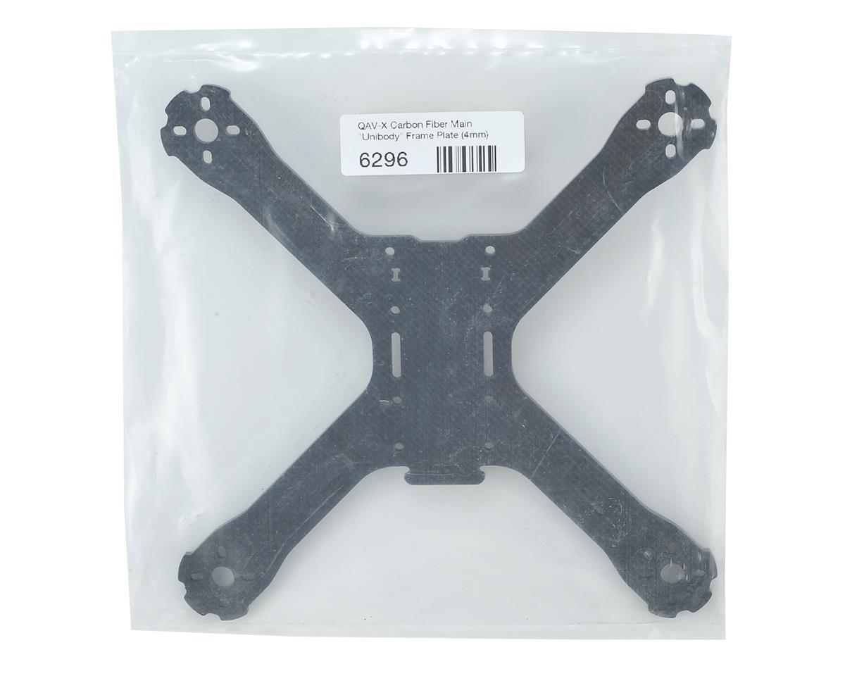 Lumenier QAV-X Carbon Fiber Main Unibody Frame Plate (4mm)