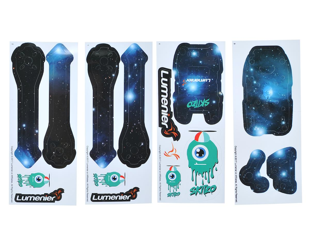 Lumenier QAV-Skitzo Dark Matter Sticker Set (Andromeda)