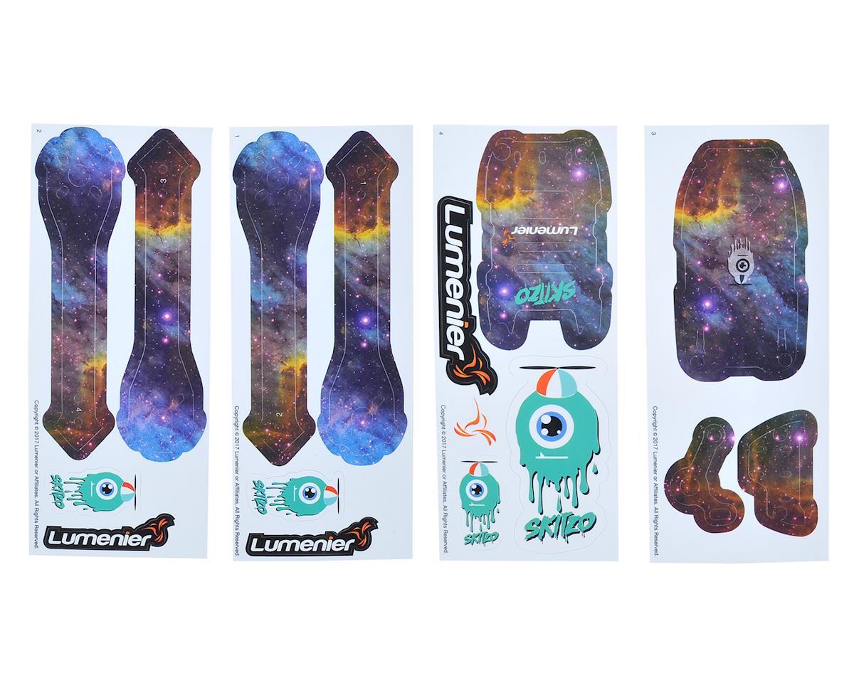 Lumenier QAV-Skitzo Dark Matter Sticker Set (Pelican)
