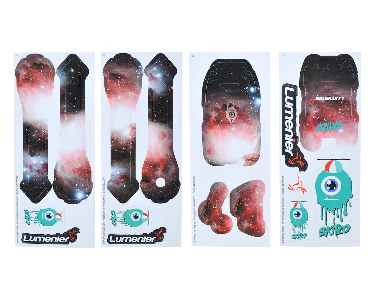 Lumenier QAV-Skitzo Dark Matter Sticker Set (Orion)
