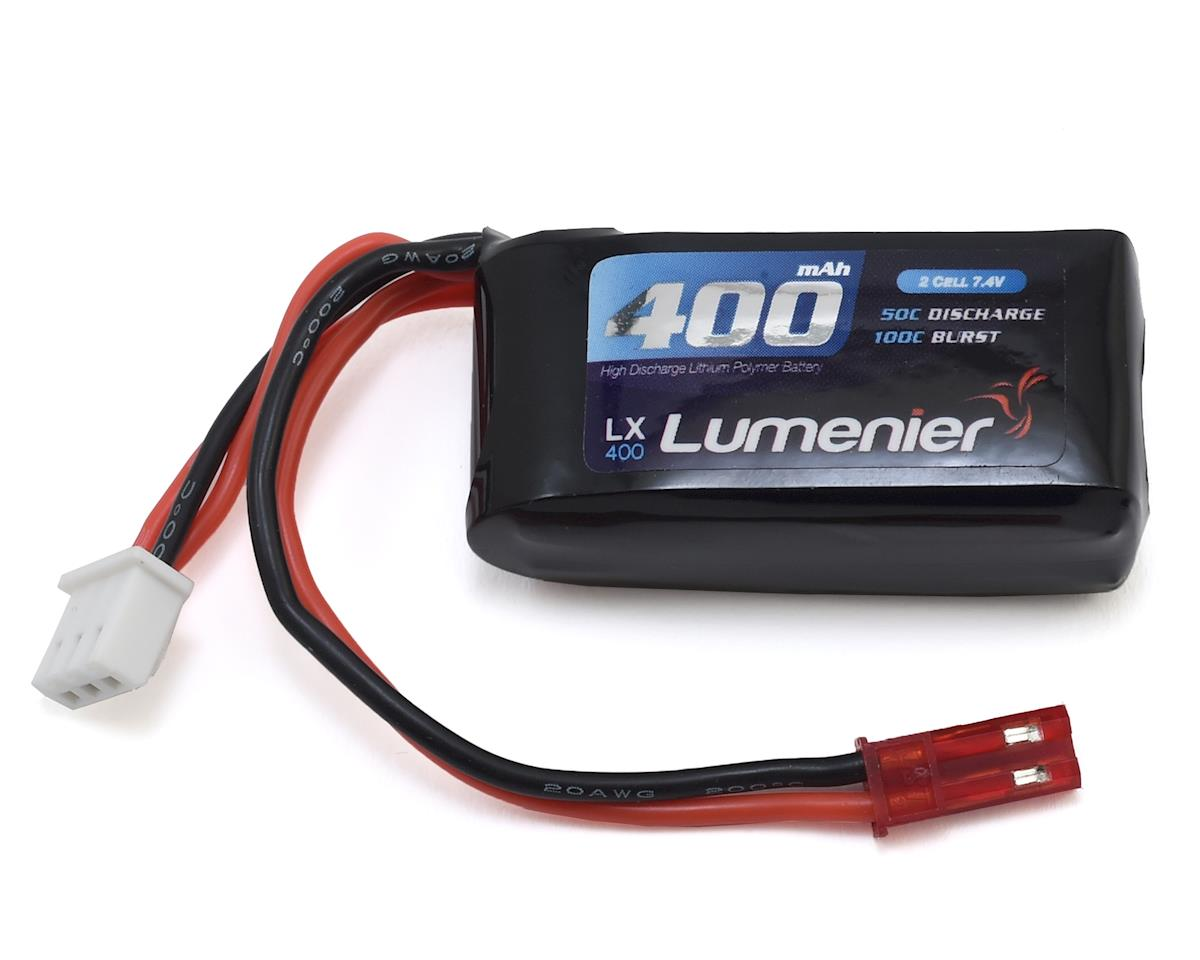 Lumenier 2S 50C LiPo Battery (7.4V/400mAh) (Blade Torrent 110)
