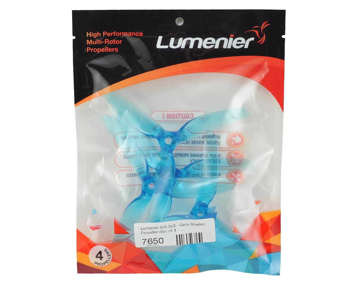 Lumenier 5x5.3x3 Gate Breaker Propeller (Blue)