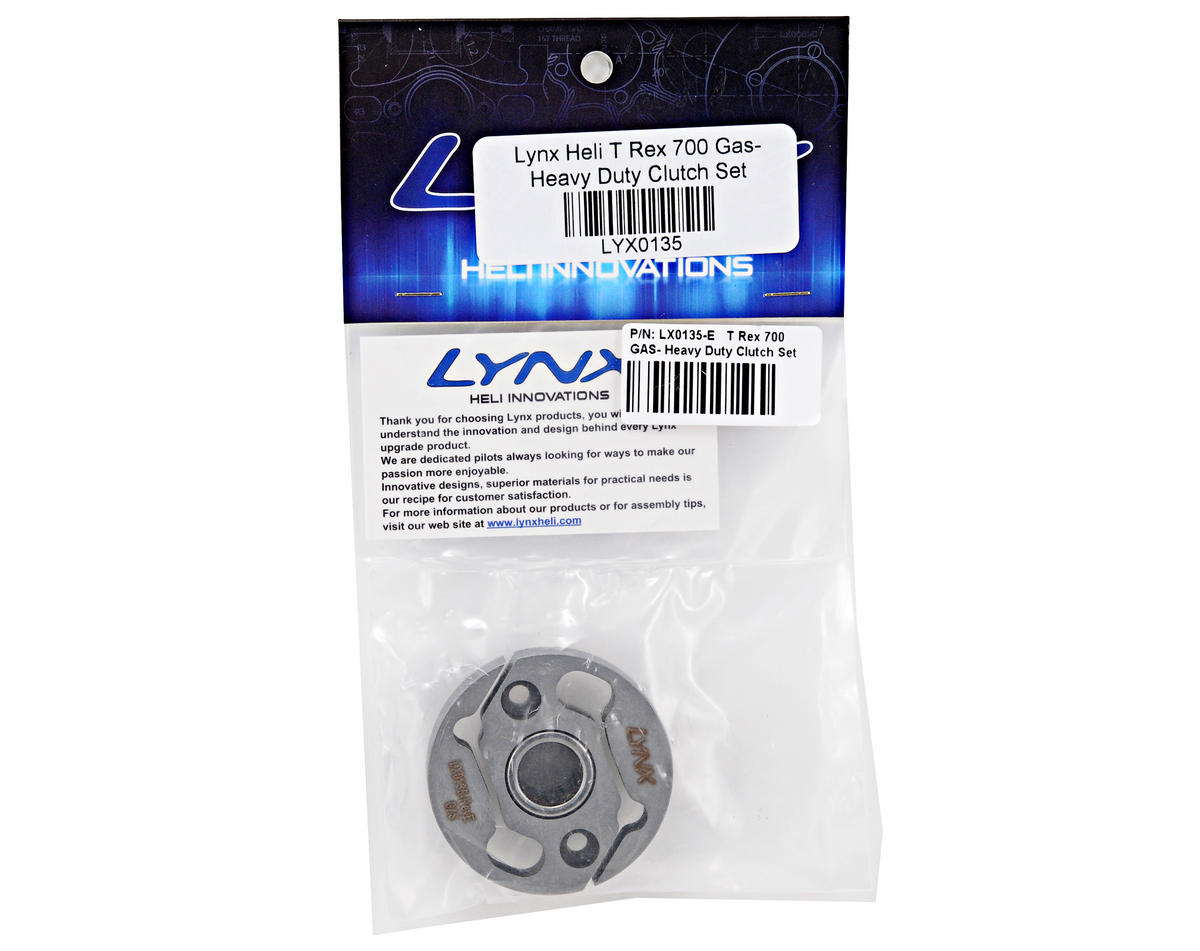 Lynx Heli T Rex 700 Heavy Duty GAS Clutch Set