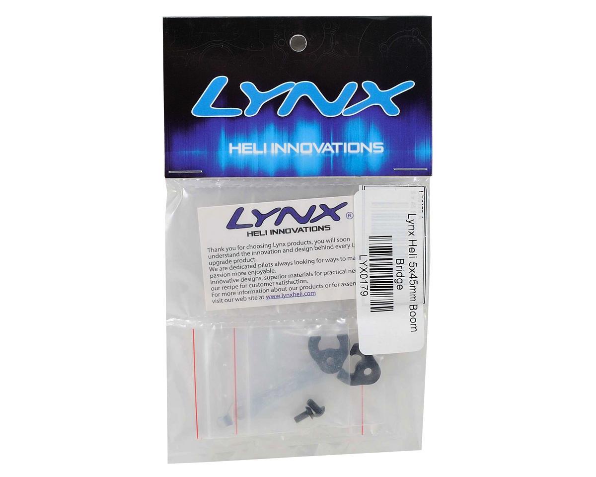 Lynx Heli T-REX 600 5x45mm Aluminum Boom Bridge