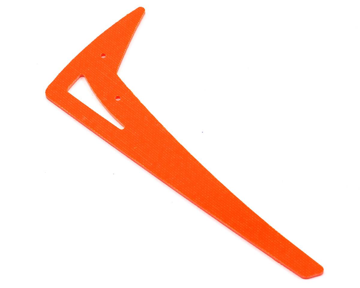 Lynx Heli Mini Protos G10 Vertical Tail Fin (Orange)