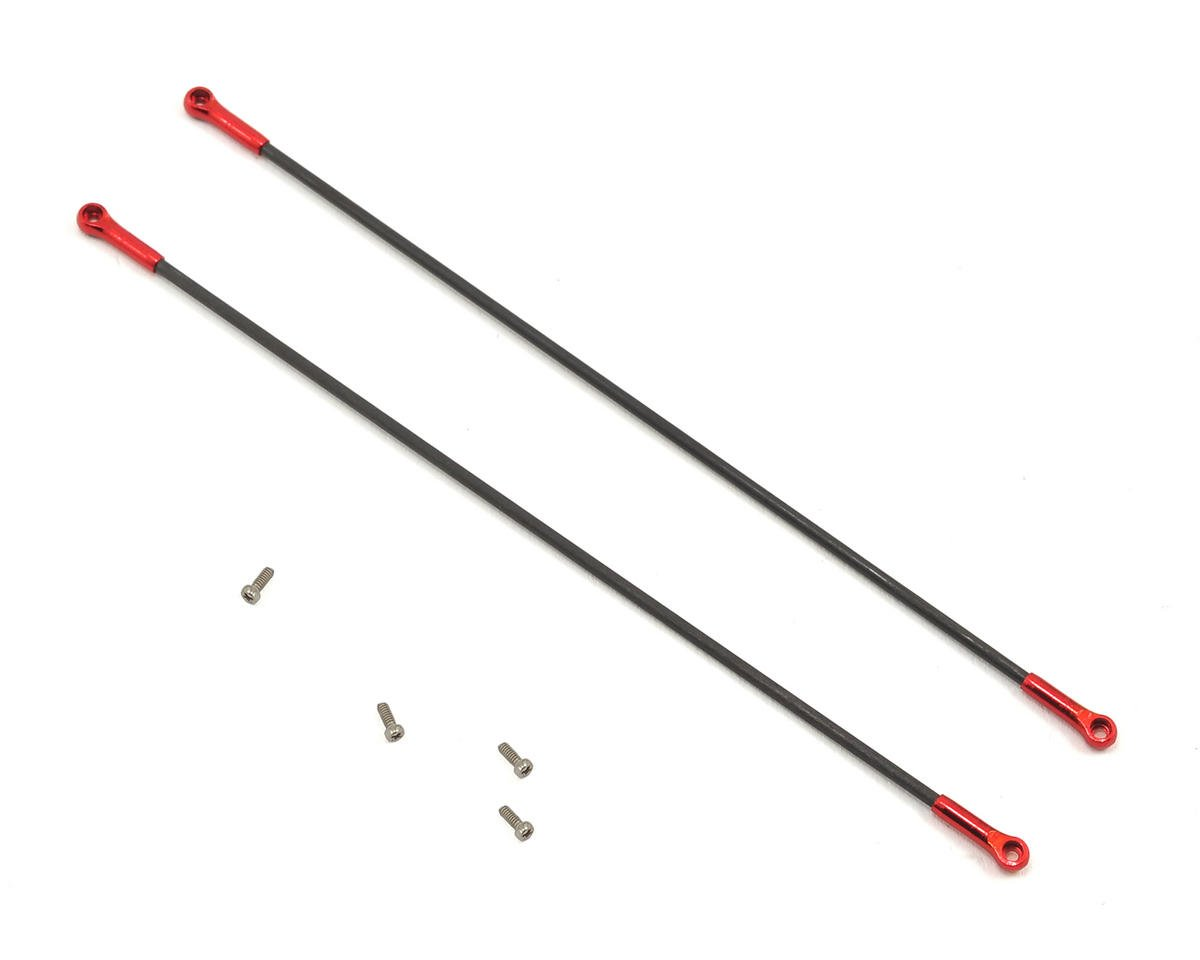 Blade mCPX BL Ultra Tail Boom Support (Red Devil Edition) by Lynx Heli