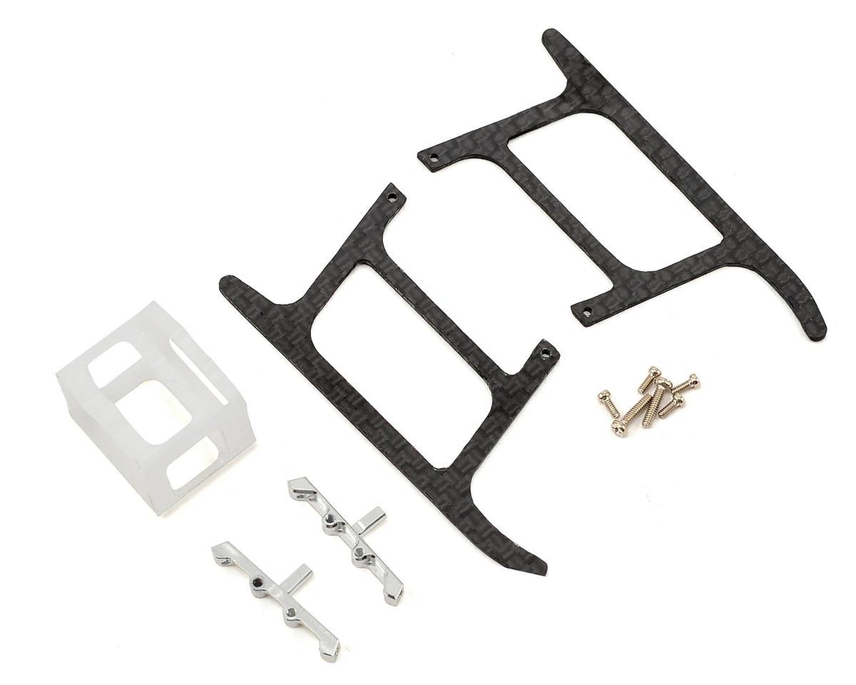 Lynx Heli Blade mCP X BL Ultra Landing Gear Set (Silver) (Profile 6)