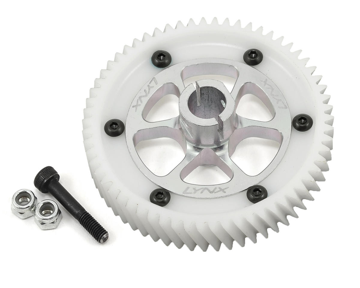 Lynx Heli Goblin 500 Ultra Main Gear Set (Silver)