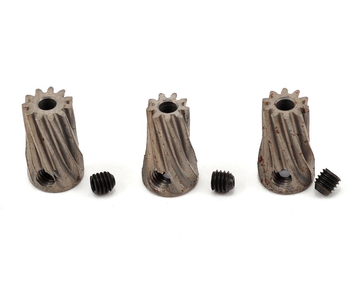 Lynx Heli Steel MOD 0.5 Slant Pinion Gear Set (9T, 10T, 11T)