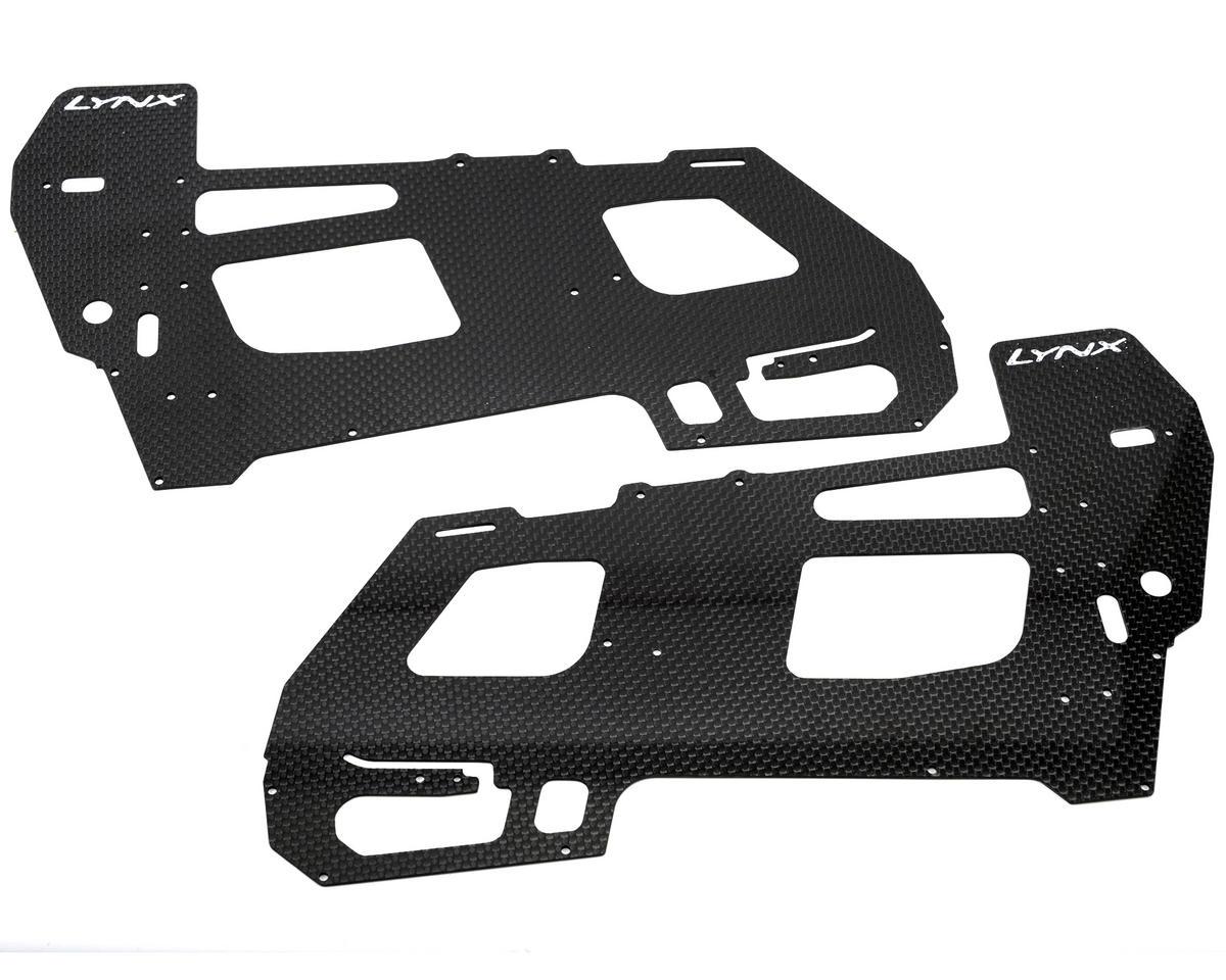 Lynx Heli 1.5mm Goblin 500 Carbon Fiber Ultra Main Frame Set