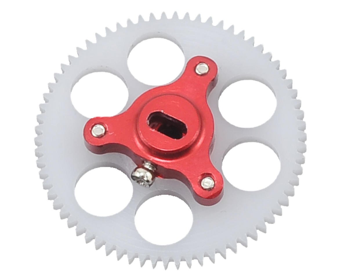 Lynx Heli Blade Nano CP X Ultra Main Gear & Hub Set (Red) (70T)