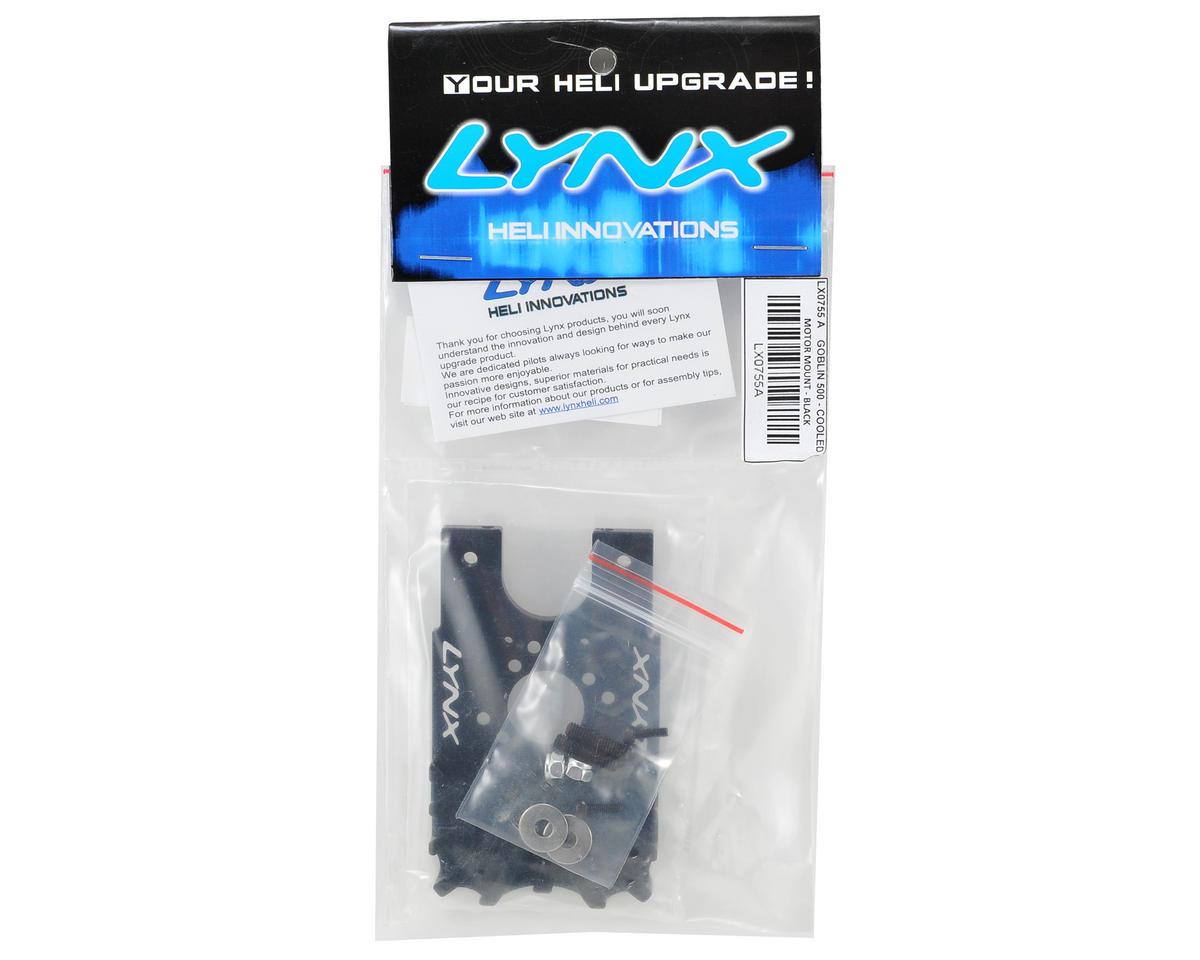 Lynx Heli Goblin 500 Cooled Motor Mount (Black)