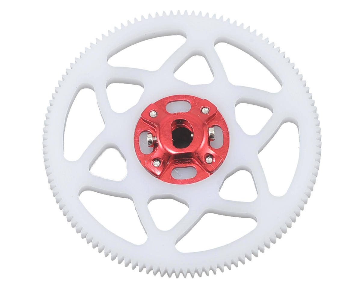 Lynx Heli Blade 130 X Ultra Main Gear Hub Combo (Red) (116T)
