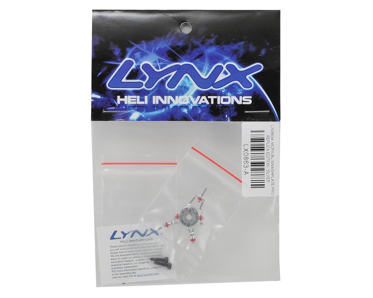 Lynx Heli Blade mCPX BL Swashplate V2 Pro Edition (Silver)