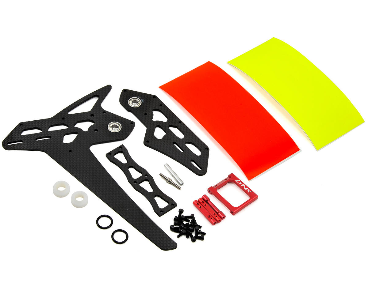 Lynx Heli Goblin 500/550 Stretch Tail Kit (Red)