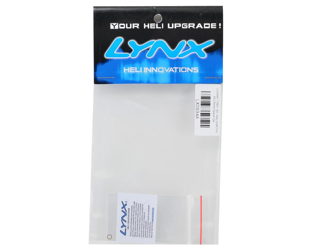 Lynx Heli T-Rex 150 Main Shaft Fine Adjustment Shim Set (6)