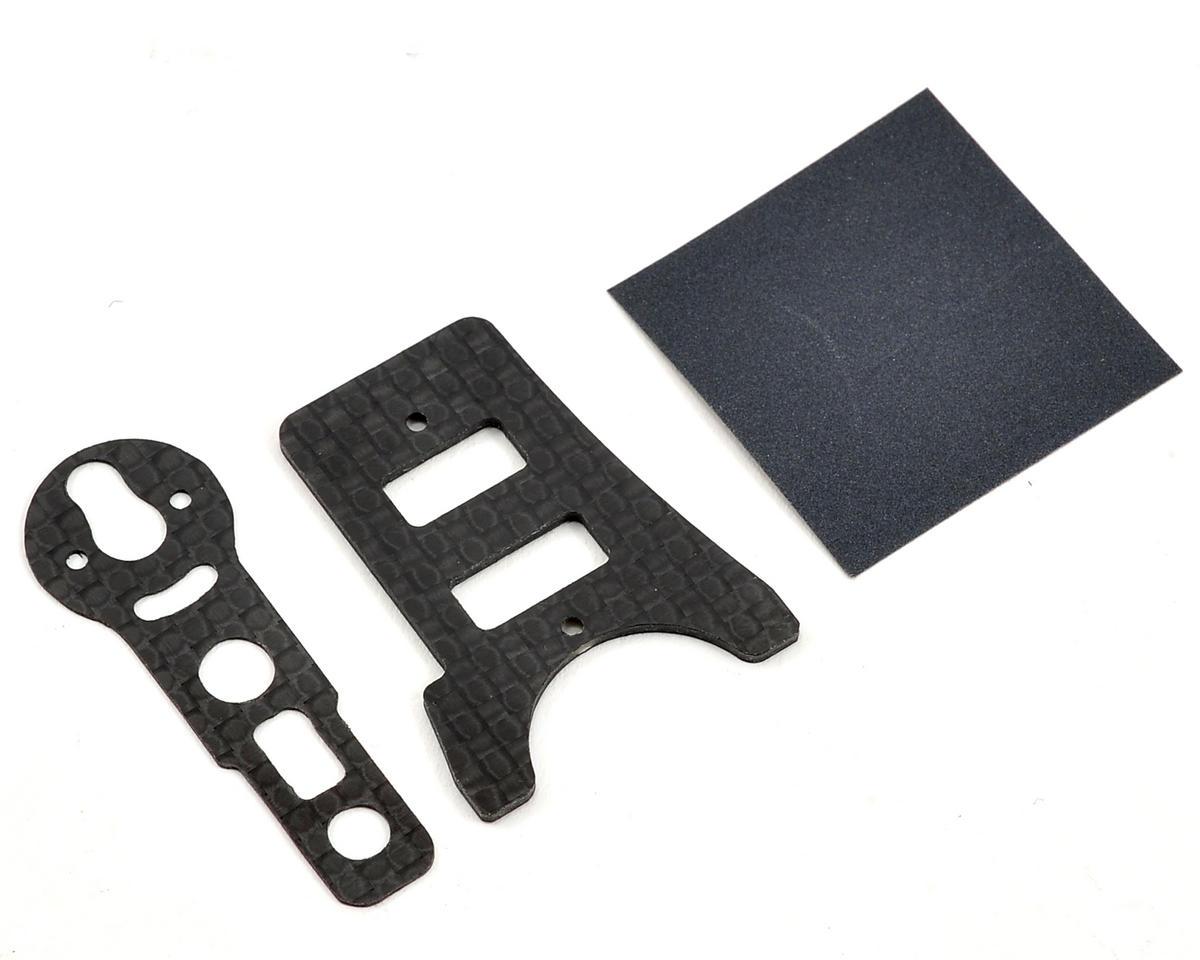 Lynx Heli T-REX 150DFC Carbon Fiber Frame Stiffener Set