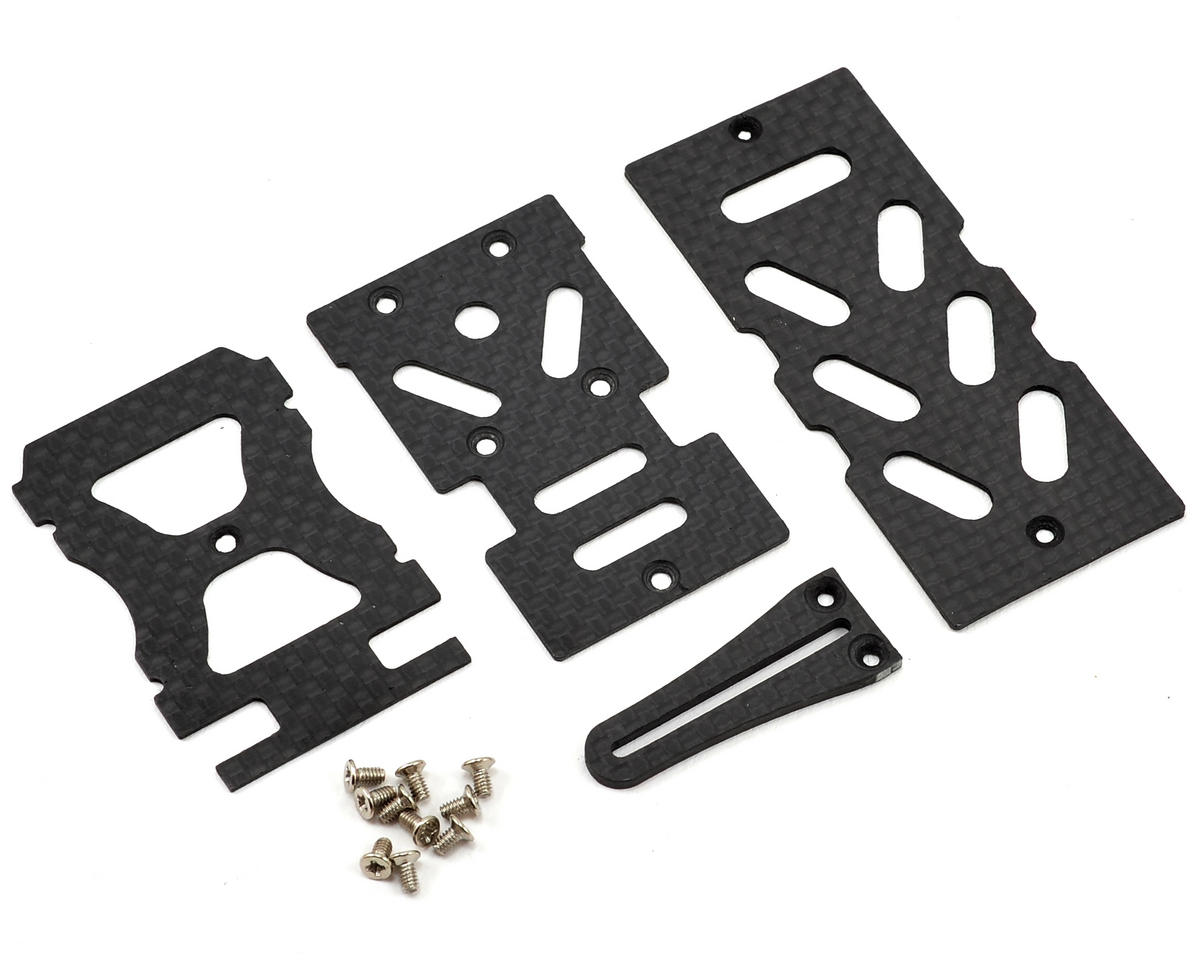Lynx Heli Blade 300 X Ultra Main Frame Electronics Support Set