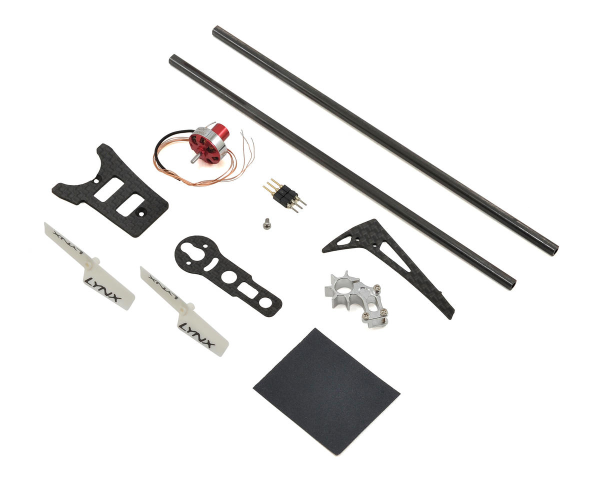 Lynx Heli T-REX 150 Ultra Tail System Combo (Silver)