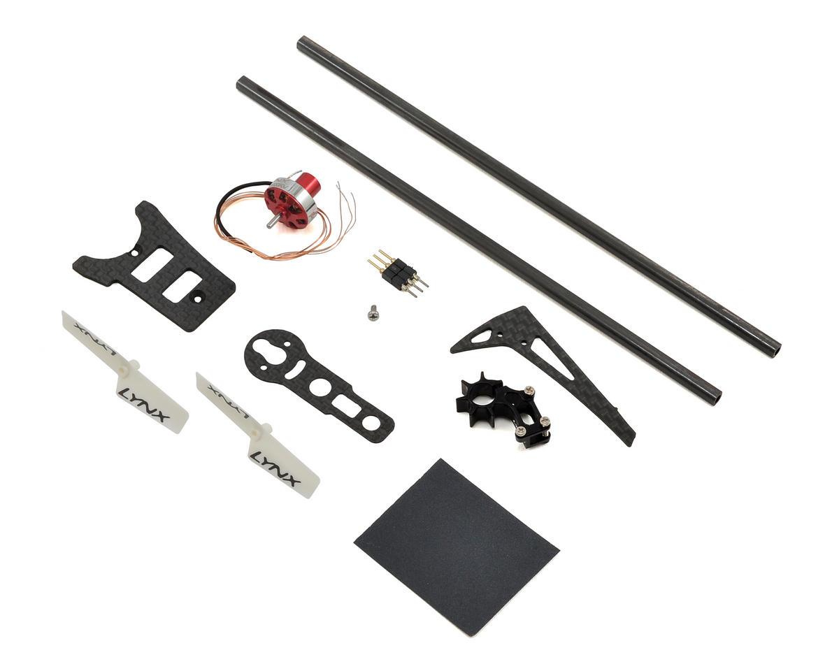 Lynx Heli T-REX 150 Ultra Tail System Combo (Black)