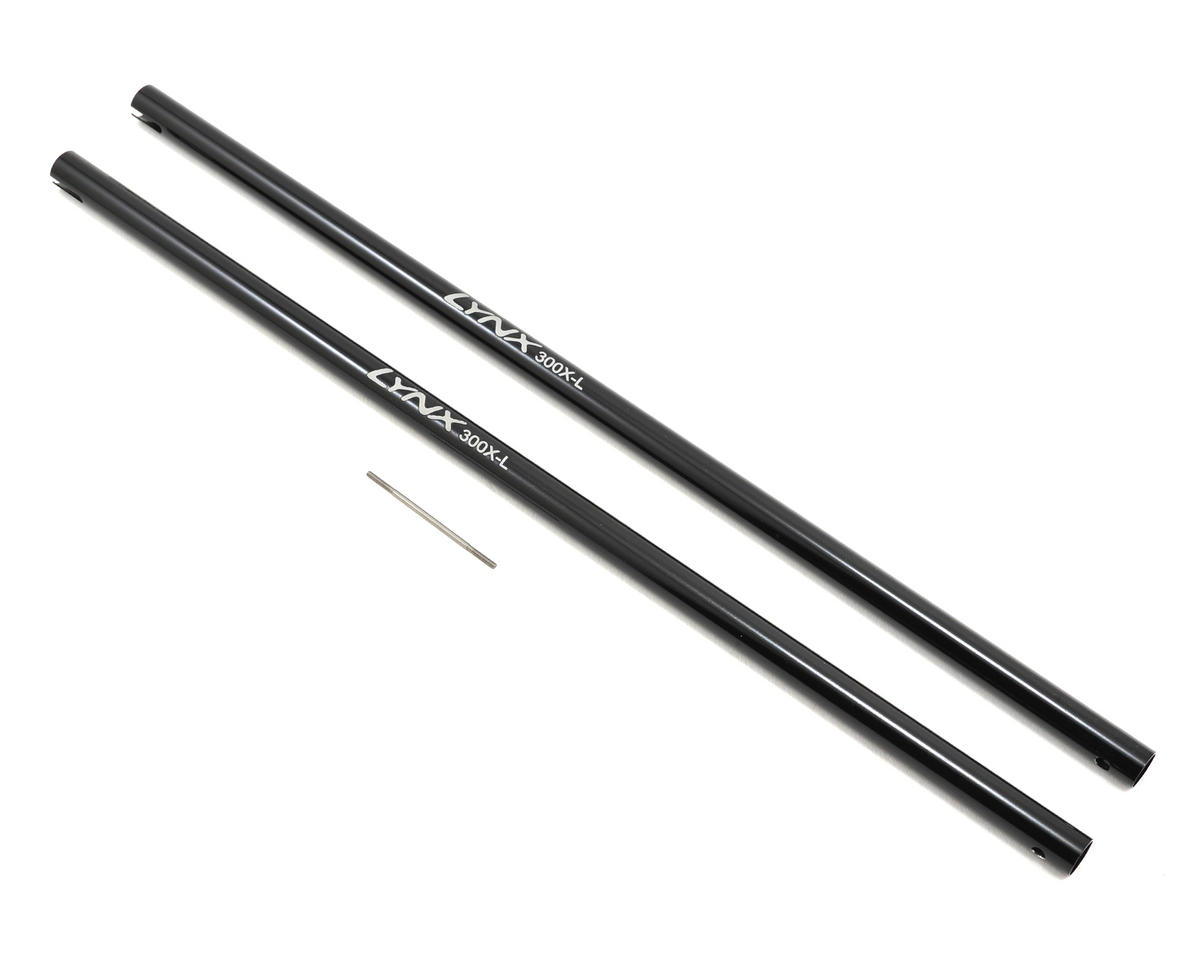 "Lynx Heli Blade 300X/300CFX Aluminum ""Stretch"" Tail Boom Spare (2)"