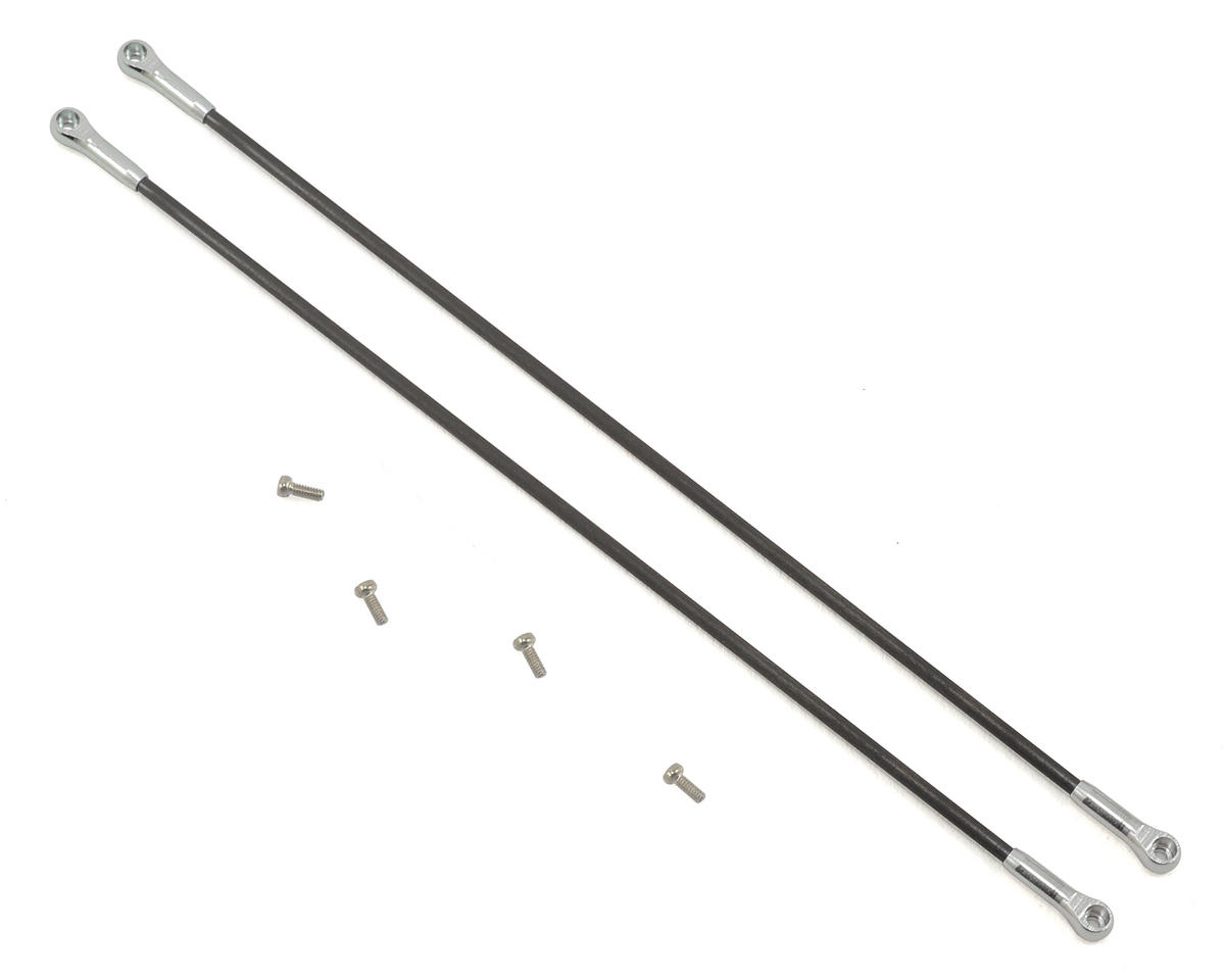 Lynx Heli T-REX 150DFC Ultra Tail Boom Support Spare (Silver) (2)