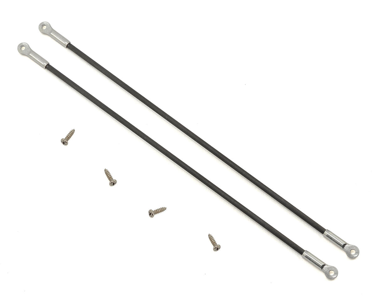 180CFX Ultra Tail Boom Support Set (Silver) by Lynx Heli