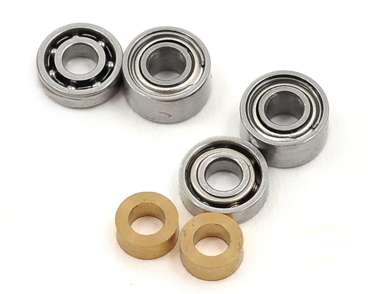 180CFX Super Precise Standard Tail Grip Bearing Replacement Set by Lynx Heli