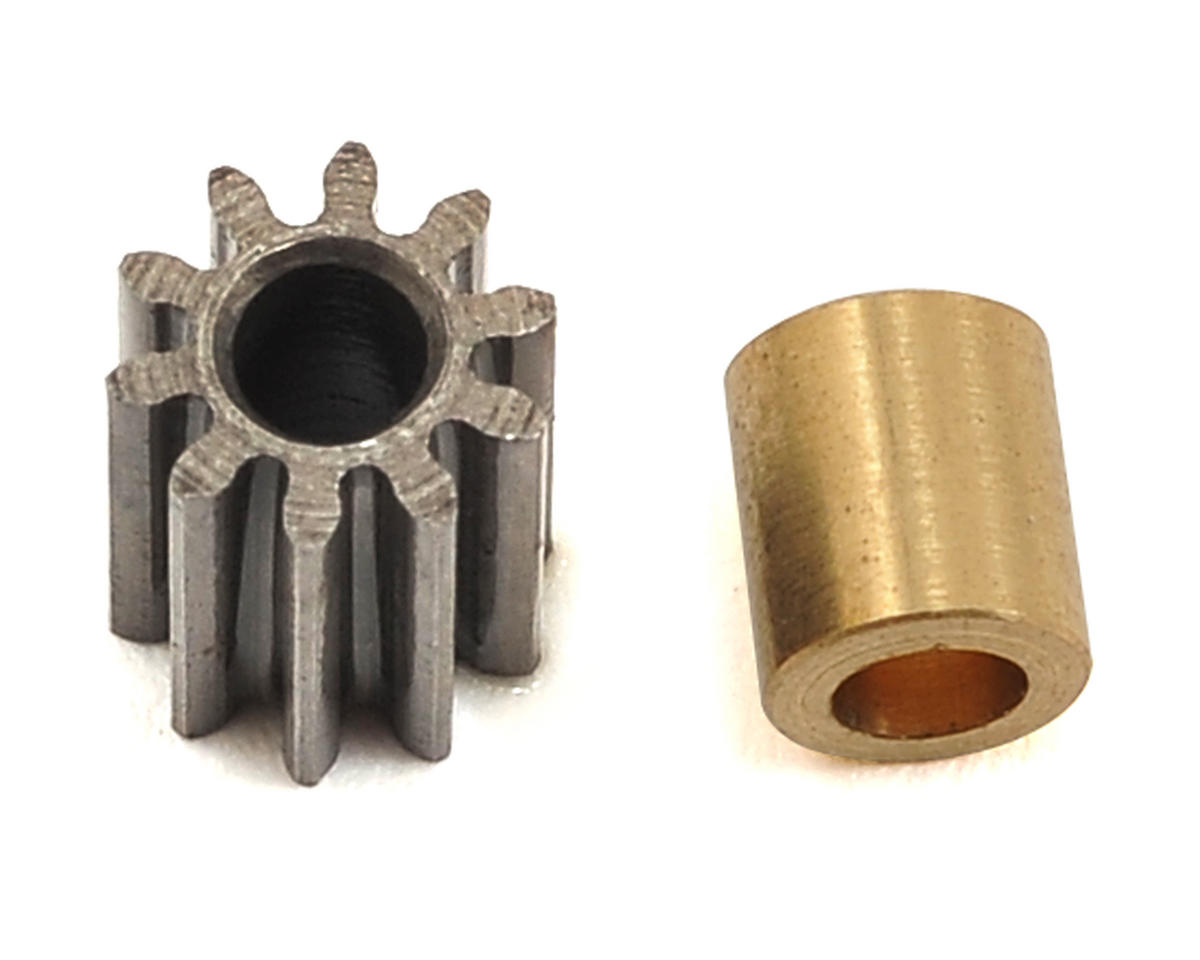 Lynx Heli 180CFX Hardened Steel Mod 0.4 Pinion w/2mm Bore (10T)