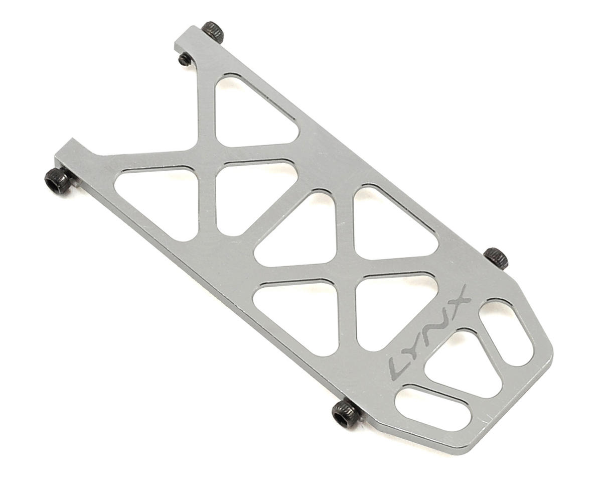 Lynx Heli 180CFX Ultra Battery Tray (Silver)