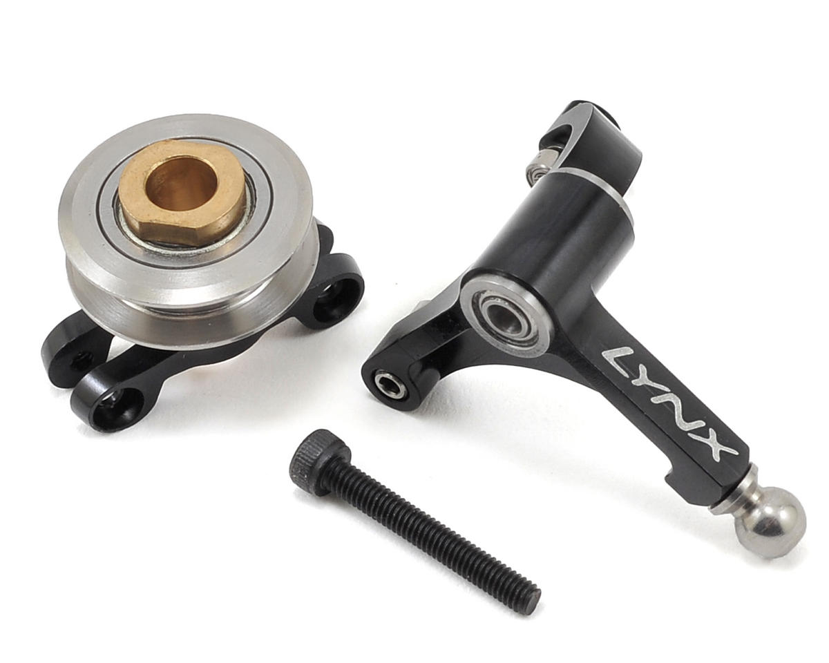 Lynx Heli Precision Tail Bell Crank Lever Pro Edition (Black)