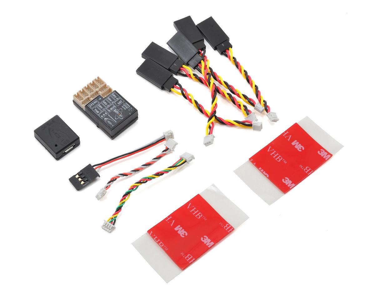 Lynx Heli MSH uBrain Flybarless System & Servo Adapter Combo