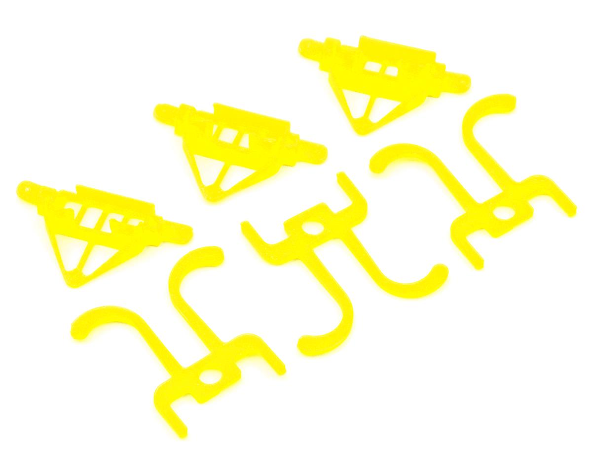 Lynx Heli TinyFPV Camera Mount w/Roll Bar (7/15/20 Degree Tilt) (Yellow)