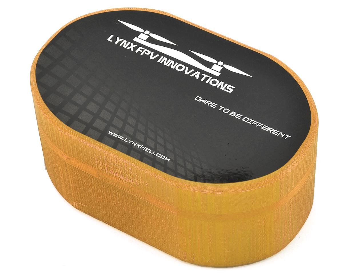 Lynx Heli Plastic Carrying Case (TinyFPV/InductrixFPV/Spider65) (Orange) (Blade Inductrix FPV)