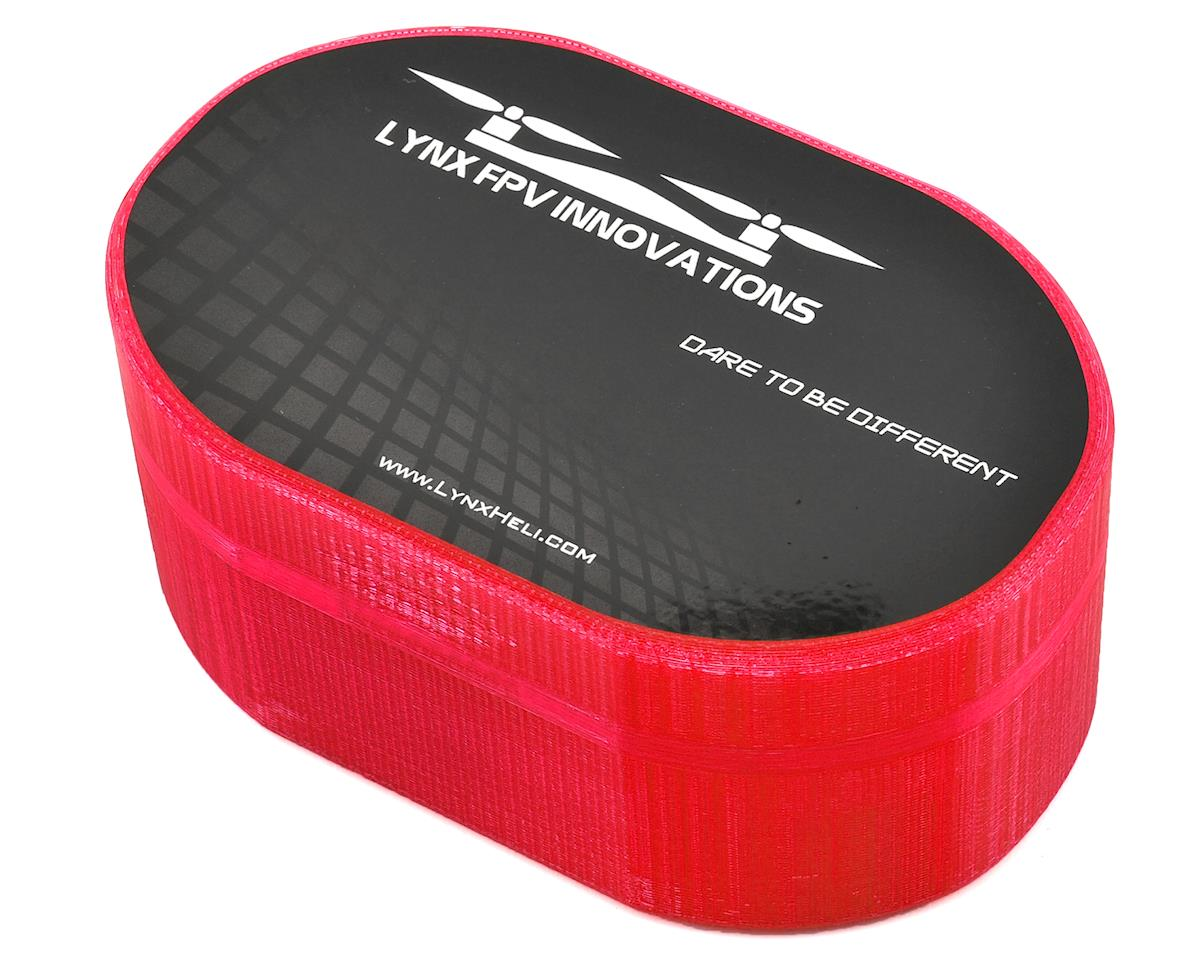 Lynx Heli Plastic Carrying Case (TinyFPV/InductrixFPV/Spider65) (Rose) (Blade Inductrix FPV)